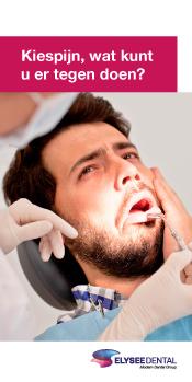 patientenflyers orthodontie tandtechniek kiespijn tandpijn
