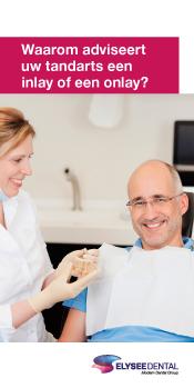 patientenflyers orthodontie tandtechniek inlay onlay
