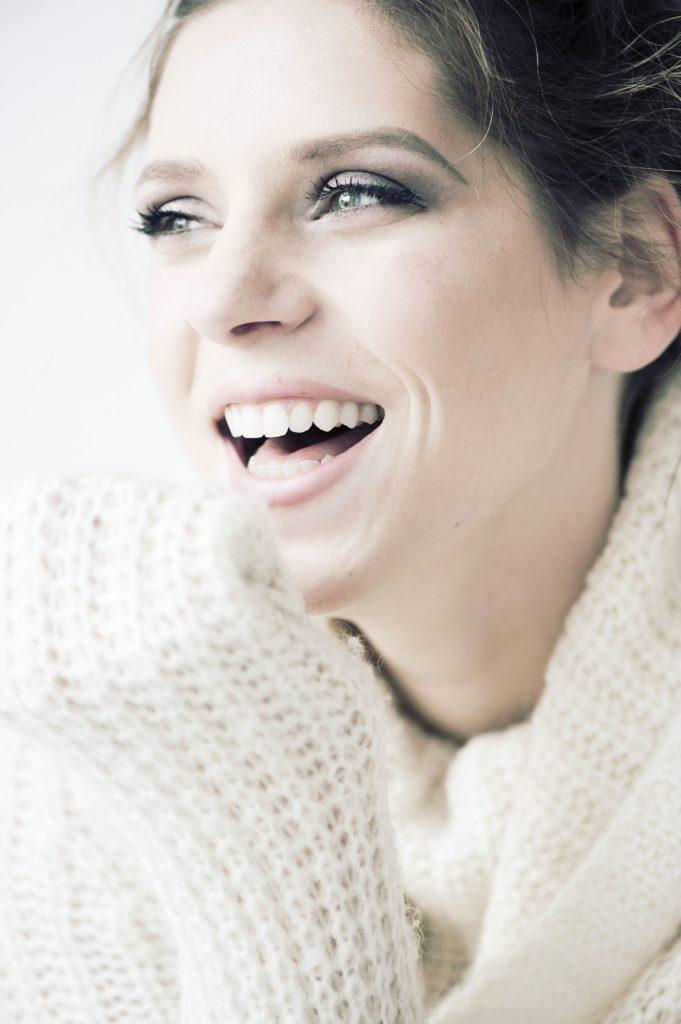 witte glimlach tanden bleken
